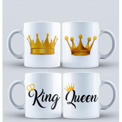 Taza Pack King - Queen